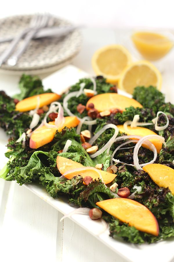 "<strong>Get the <a href=""http://www.thehealthymaven.com/2015/07/grilled-kale-salad-with-lemon-vinaigrette.html"" target=""_blan"