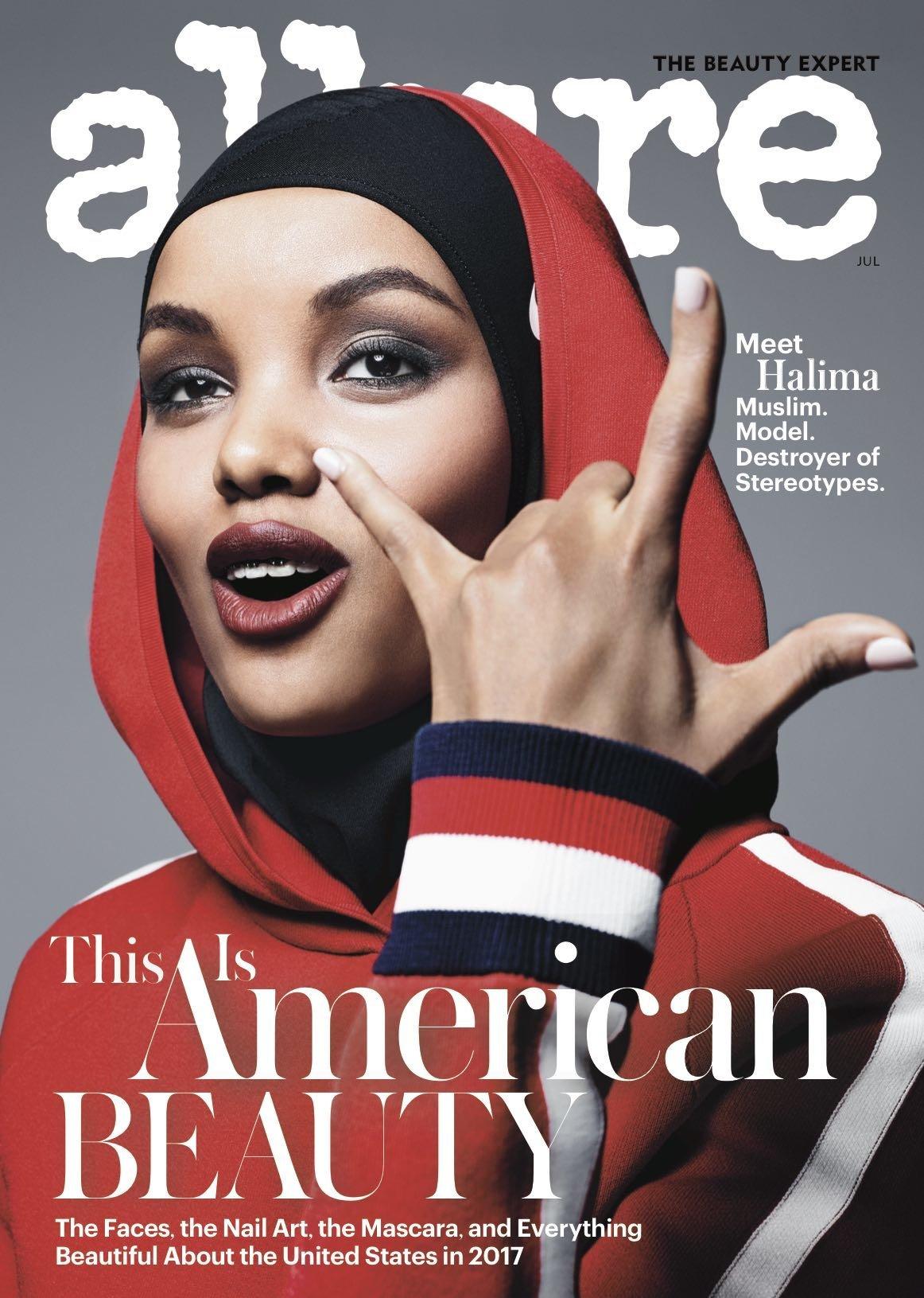 「これがアメリカン・ビューティ」19歳のムスリム女性、有名ファッション誌の表紙を席巻