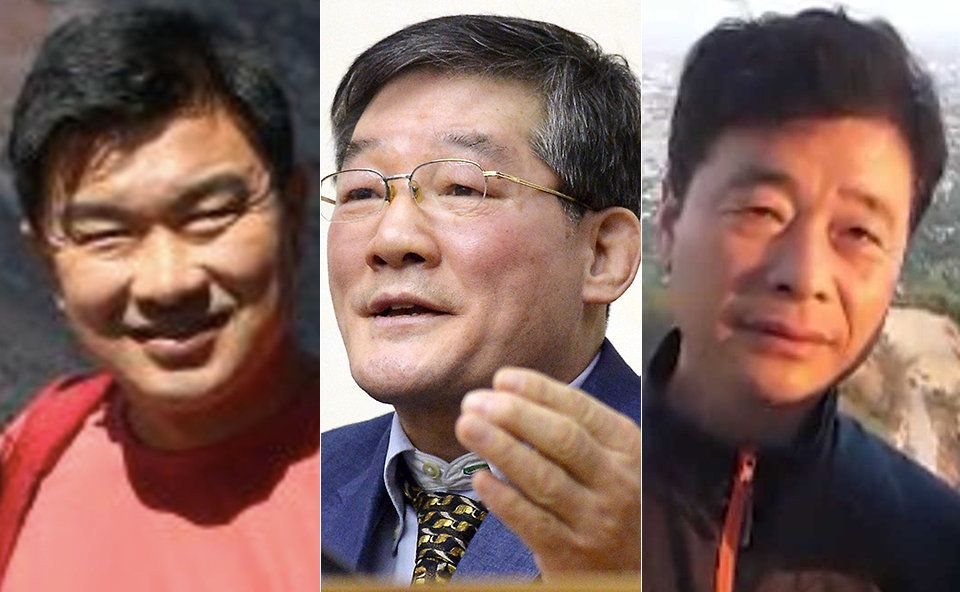 Tony Kim left Kim Dong Chul and Kim Hak Song are all currently still held captive in North Korea