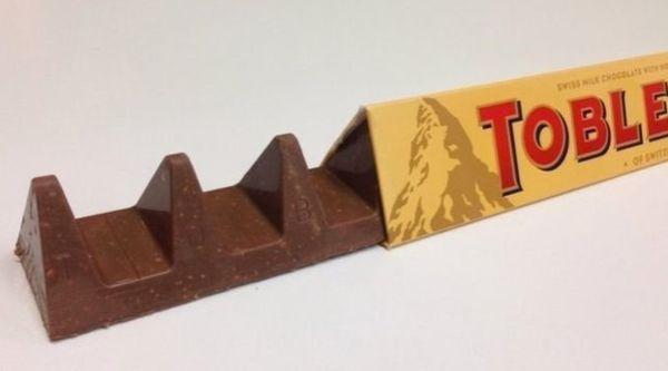 Toblerone's new shape