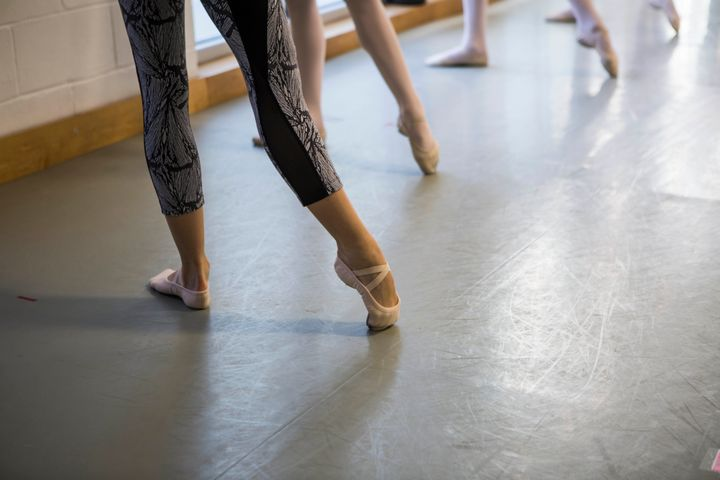When Lovette was a child, a local dance teacher noticed her feet and offered her free ballet lessons.