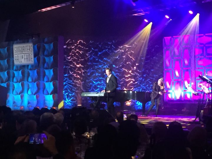 <p>Robert Lamm & James Pankow Performing</p>