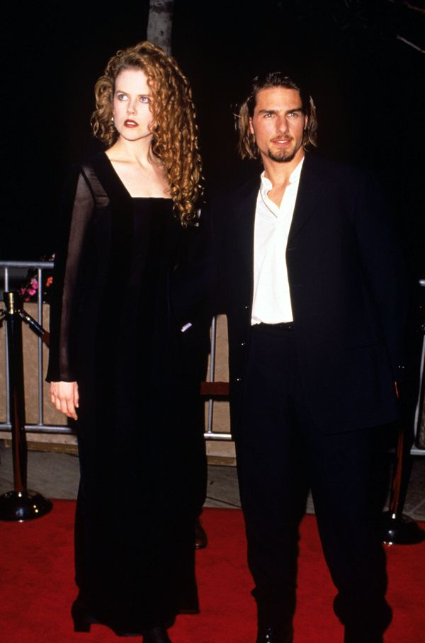 With Tom Cruise.
