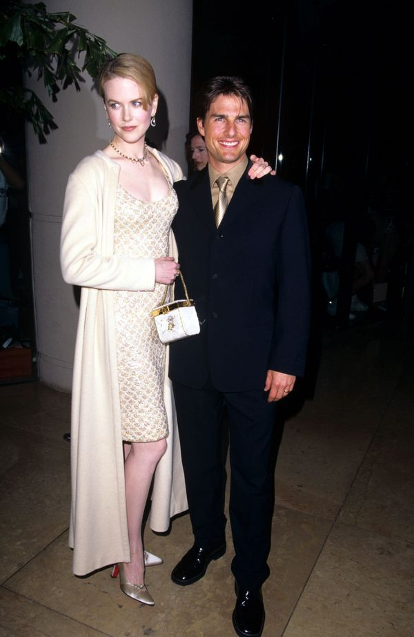 With Tom Cruise at the11th Annual American Cinematheque Moving Picture Ball.