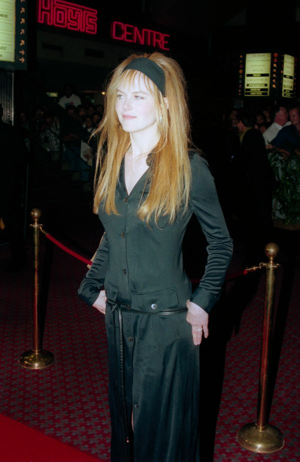 """At the """"To Die For"""" premiere."""