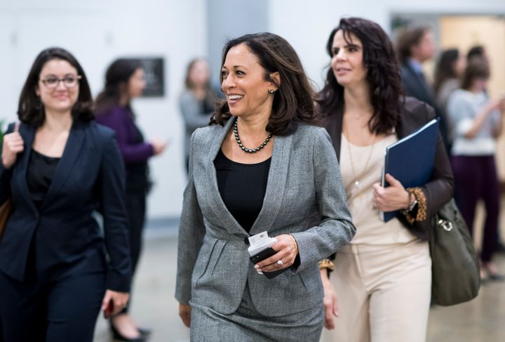 Sen. Kamala Harris is celebrating black music month with the release of her very own playlist.