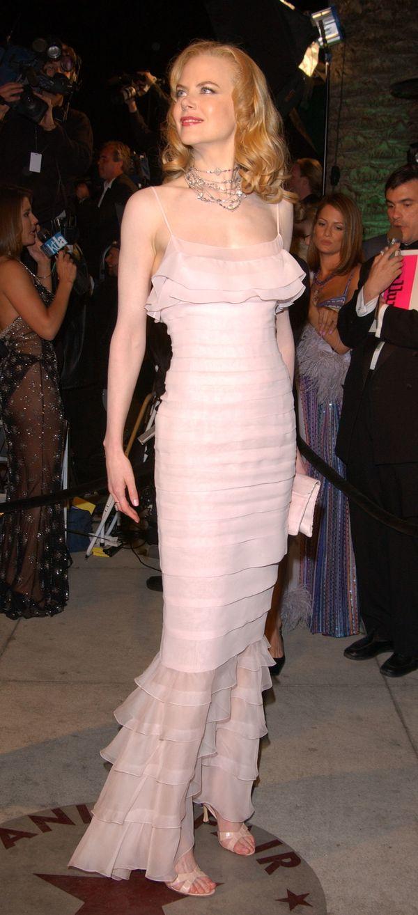 At the Vanity Fair Oscar Party.
