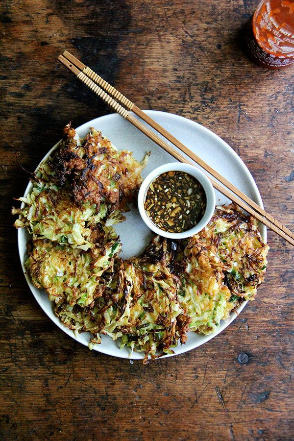 "<strong>Get the <a href=""http://www.alexandracooks.com/2016/07/22/okonamiyaki-cabbage-pancakes/"" target=""_blank"">Cabbage Panc"