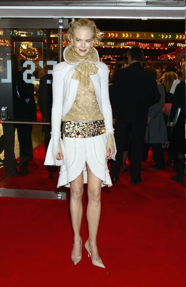 """At the U.K. premiere of the film """"Cold Mountain."""""""