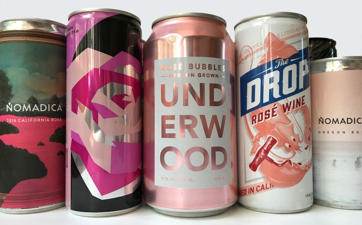 The canned rosés you'll want to be drinking this summer.