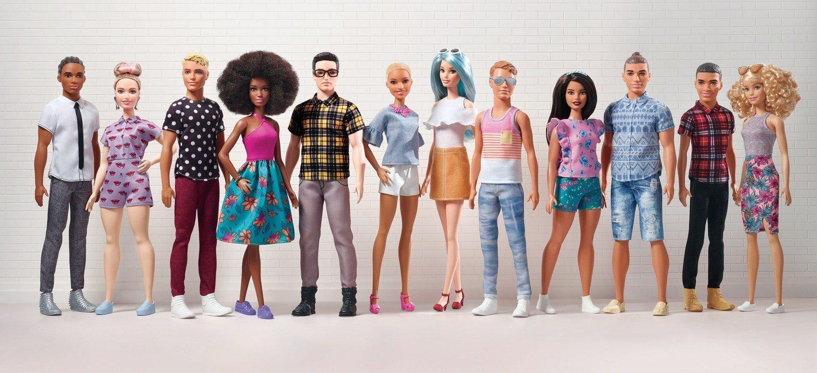 Mattel gave Ken a makeover.