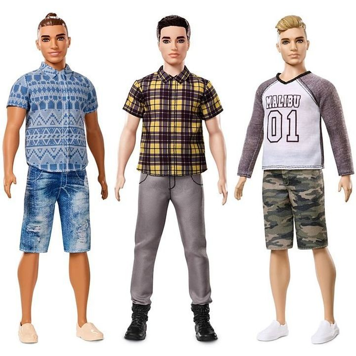 """The new Ken doll options include a """"broad"""" body type."""