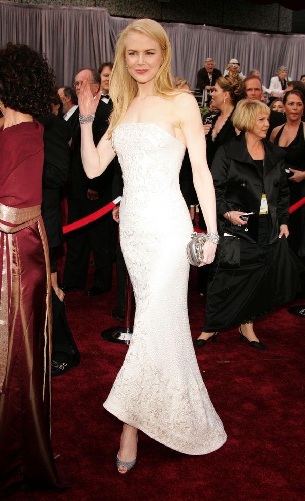 At the Oscars.