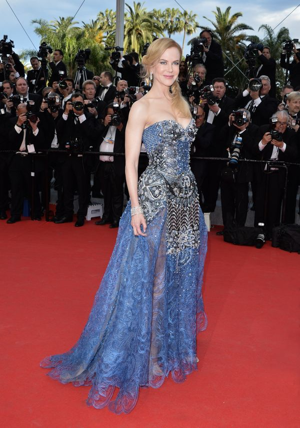 """At the openingceremony and """"Grace of Monaco"""" premiere during Cannes."""