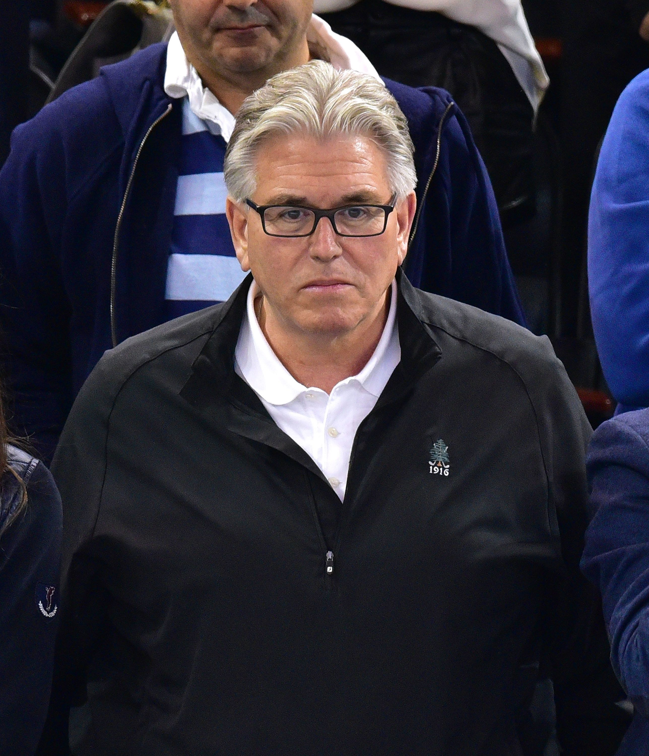 NEW YORK, NY - MAY 08:  Mike Francesa attends the Washington Capitals vs New York Rangers game at Madison Square Garden on May 8, 2015 in New York City.  (Photo by James Devaney/GC Images)