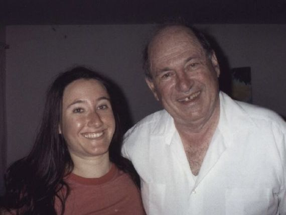 Basketball fan and amateur mathematician Danny Kleinman, with daughter Joy Winkle