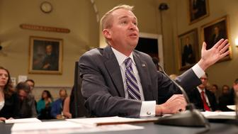 Office of Management and Budget Director Mick Mulvaney testifies before the House Budget Committee about President Donald Trump's 2018 budget proposal on Capitol Hill in Washington, D.C., U.S. May 24, 2017.  REUTERS/Aaron P. Bernstein