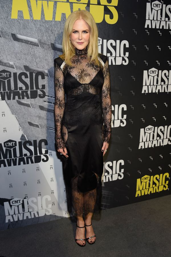 At the CMT Music Awards.