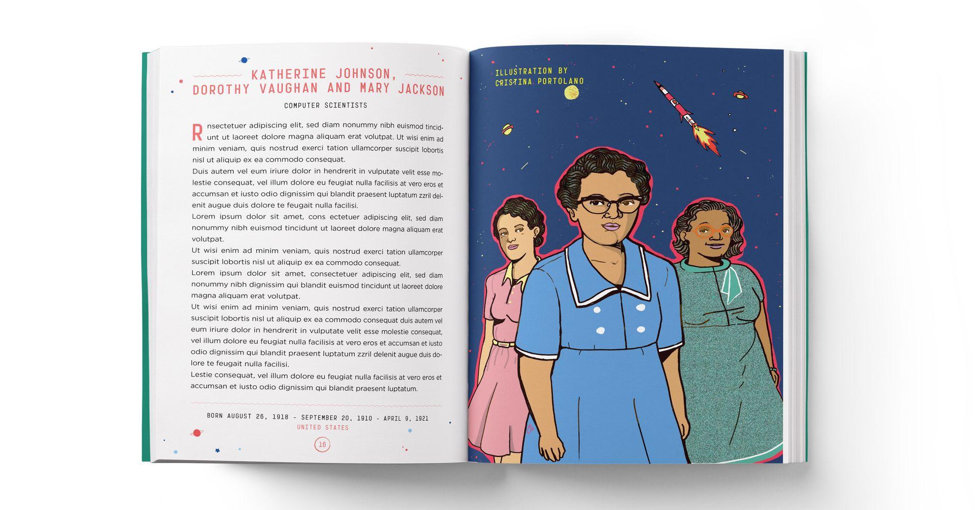 Resultado de imagem para bedtime stories for rebel girls 2