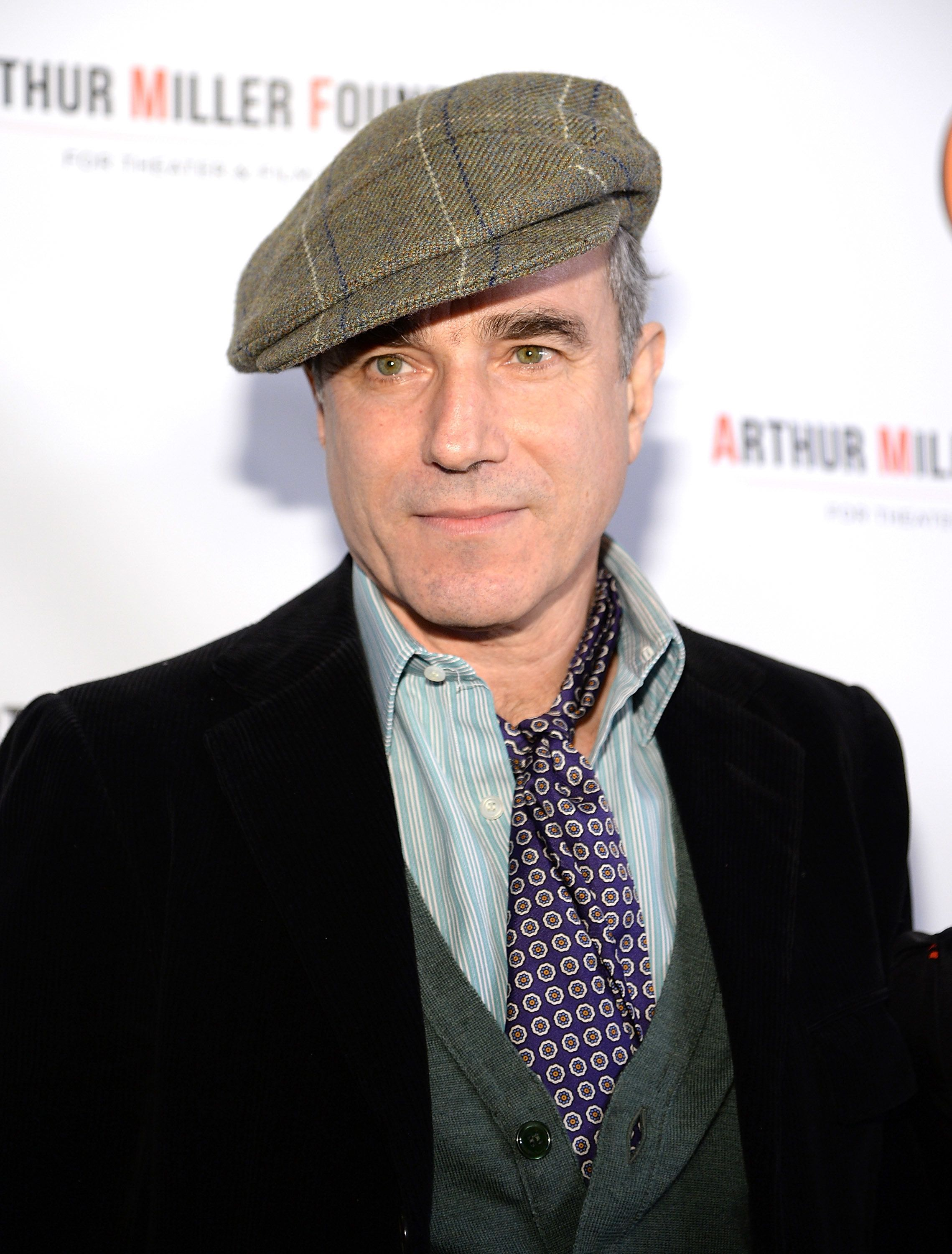 NEW YORK, NY - JANUARY 25:  Daniel Day-Lewis attends the Arthur Miller - One Night 100 Years Benefit at Lyceum Theatre on January 25, 2016 in New York City.  (Photo by Kevin Mazur/Getty Images)