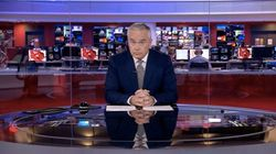 Huw Edwards Copes With The BBC News At Ten Meltdown Like A Boss