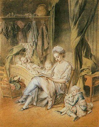 Peters, Johann Anton de, 1775, The Happy Mother
