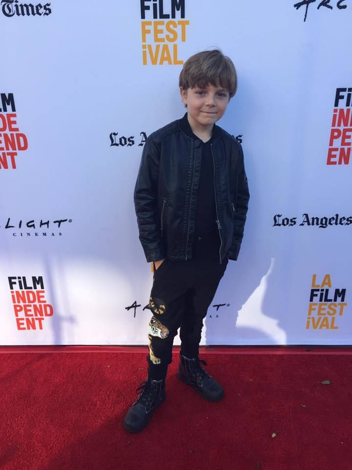 Zakary Risinger at the Premiere of 20 Weeks in Los Angeles, CA