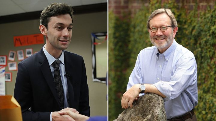 Jon Ossoff and Archie Parnell
