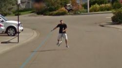 This is What Happens If You Chase The Google Street View