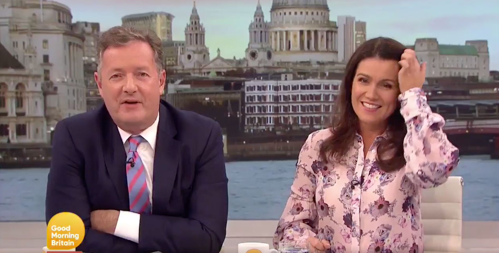 'Good Morning Britain': Overheating Causes 'Chaos' Behind The