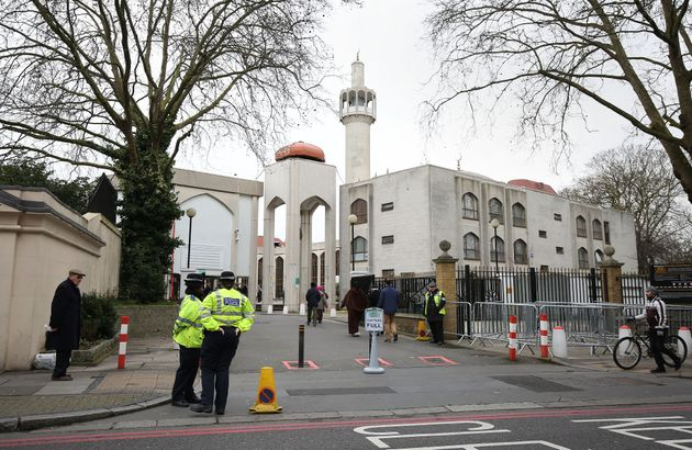 A man was tasered by police after attacking people outside the Regent's Park mosque (file
