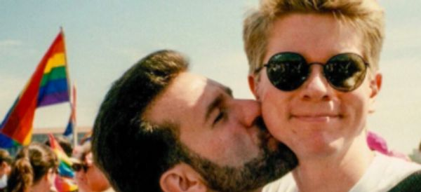 Couple Recreate Pride Photo 24 Years Later And It's All Kinds Of Wonderful