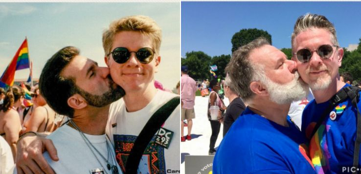 Couple Recreate Pride Photo 24 Years Later And It's All Kinds Of