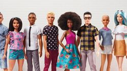 There Are Now 40 New Barbie And Ken Dolls With Different Body Types, Hairstyles And Skin
