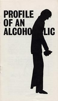 """A page from an educational pamphlet describing alcoholism, alternately titled, """"If You Don't Look Like Ichabod Crane's Shadow"""