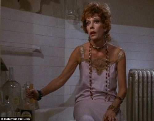 Carol Burnett as Miss Hannigan in Annie: one of many stereotypical cultural depictions of The Alcoholic.