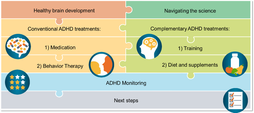 Framework from the online course How to Navigate Conventional and Complementary ADHD Treatments for Healthy Brain Development