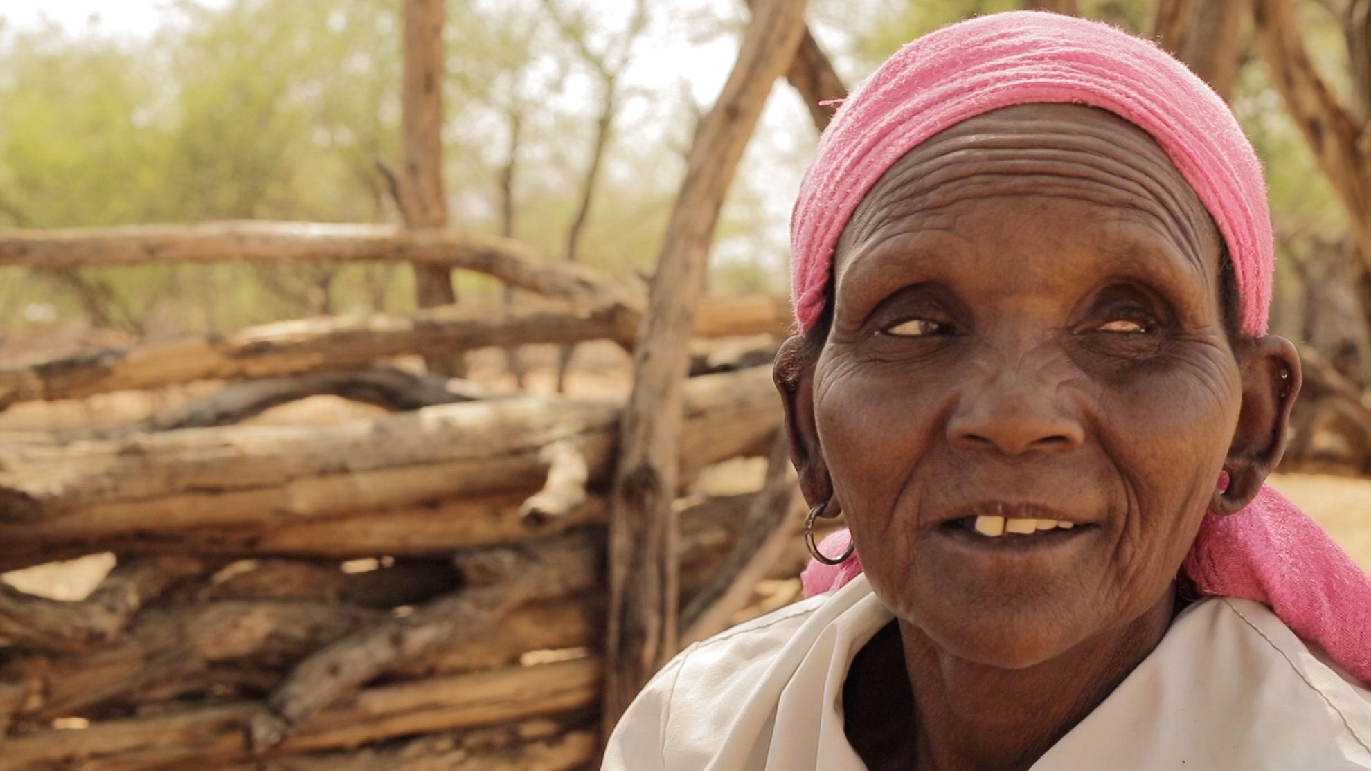 Chepserum lives in an arid part of western Kenya, where she relies on basic subsistence farming. As her eyesight began to fai
