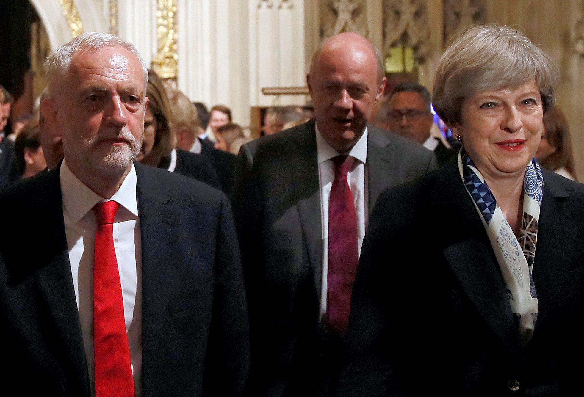 May And Corbyn's Small Talk Was The Most Awkward Thing We've Seen In A Long