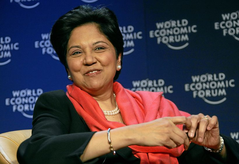 Indra Nooyi, PepsiCo, CEO and chairperson