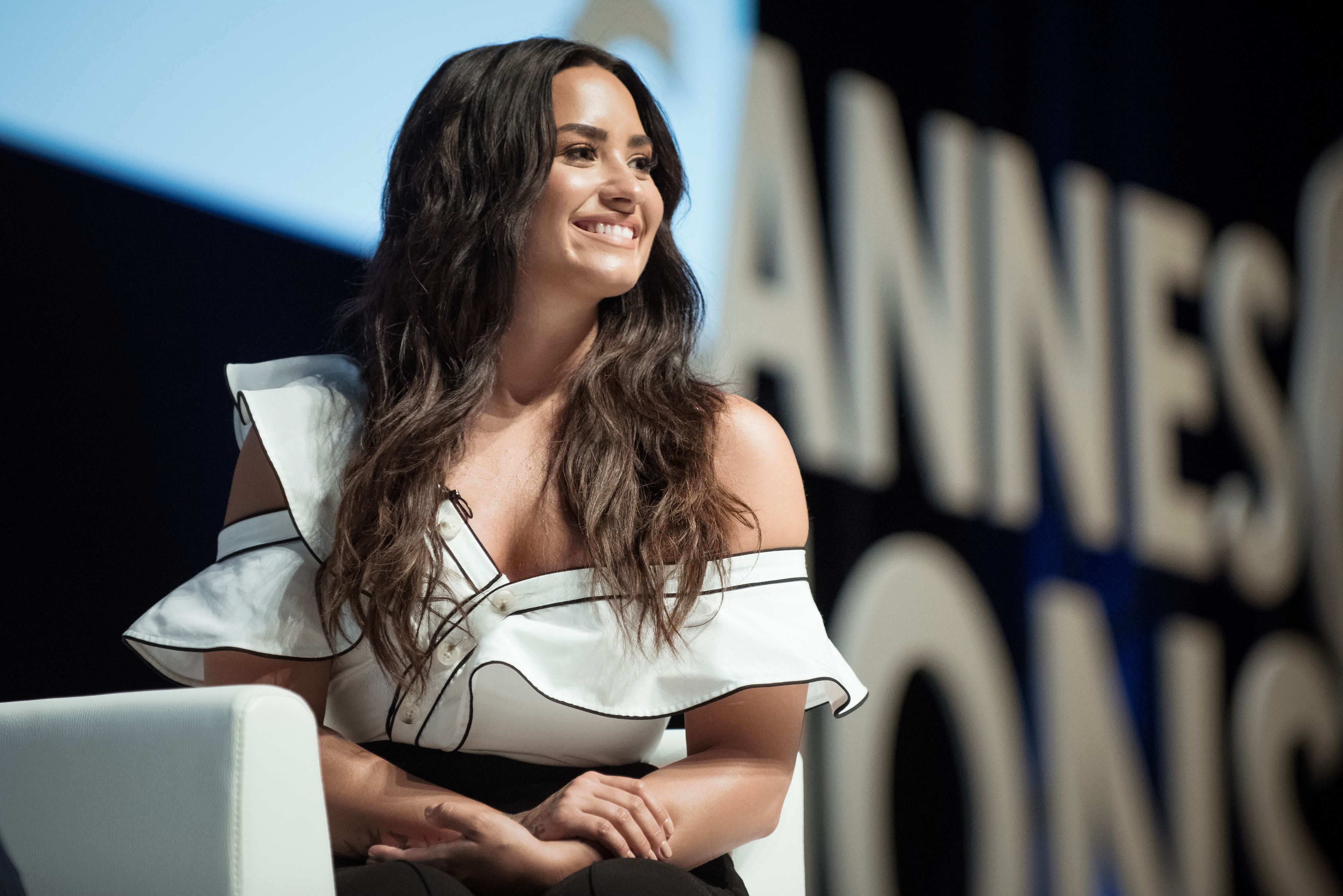 Demi Lovato discusses her new docuseries at Cannes Lions.