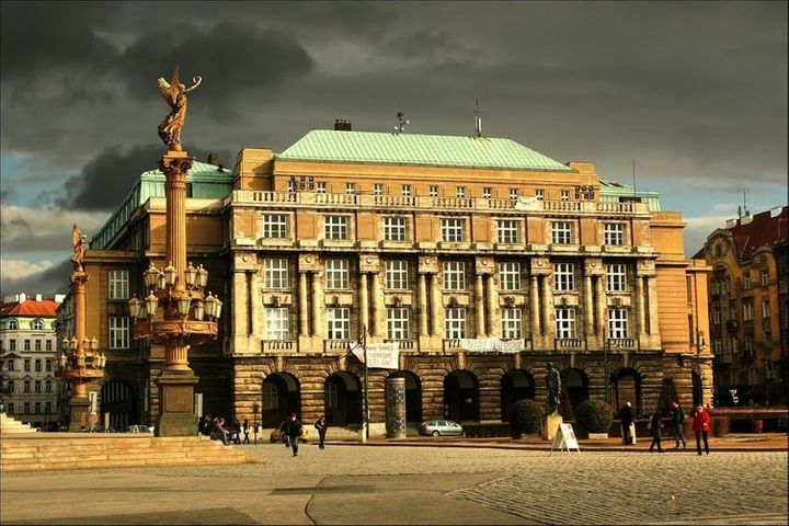 The Faculty of Arts in Prague, one of the Czech Republic's most prestigious, and underfunded, educational institutions.