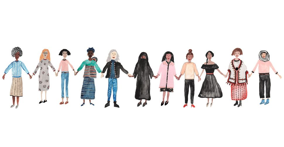 """Sara Meadows, """"GIRLS UNITE"""""""