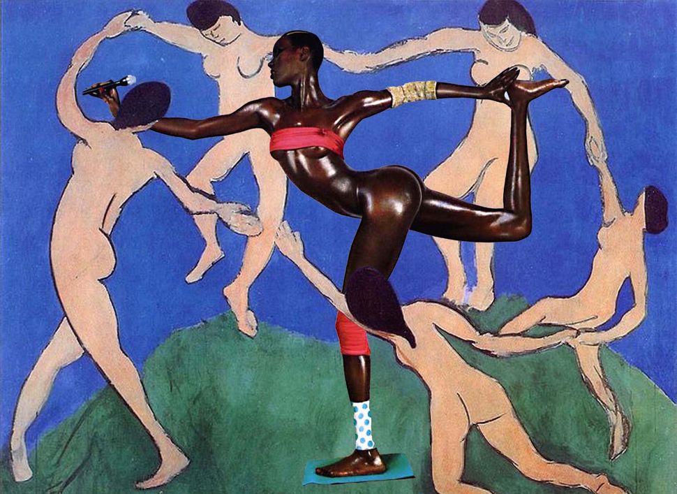 """Elise Peterson, """"Grace Meets Matisse"""""""