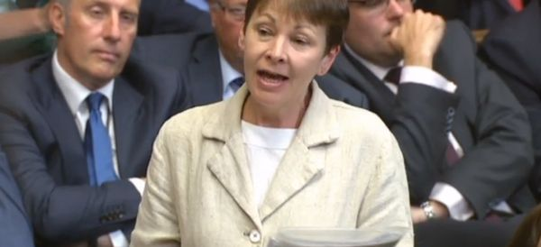 Caroline Lucas Has Upset The DUP By Calling Them Dinosaurs