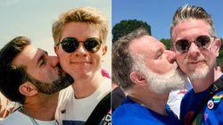 'A sociedade está preparada para nos separar': O amor entre dois homens que emocionou o
