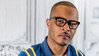 NEW YORK, NY - APRIL 07: Rapper T.I. discusses 'T.I. & Tiny: The Family Hustle' with the Bulid Series at Build Studio on April 7, 2017 in New York City.  (Photo by Roy Rochlin/FilmMagic)