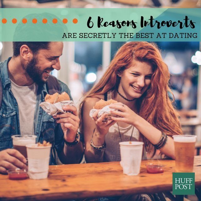 Outgoing introvert dating style