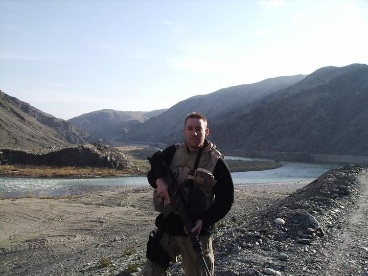 Jason Kander in Afghanistan