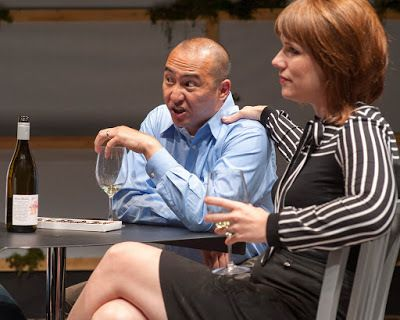 Don Castro (Dan) and Lauren English (Lindsey) in a scene from <strong><em>You Mean To Do Me Harm</em></strong>